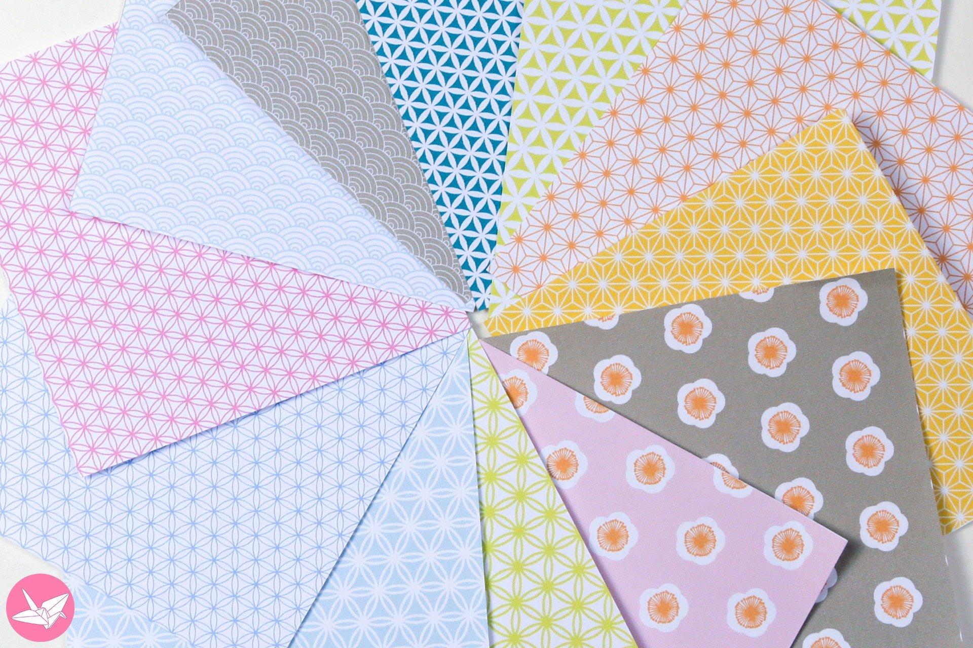 Japanese Origami Paper Printable Pack - Paper Kawaii Shop - photo#23