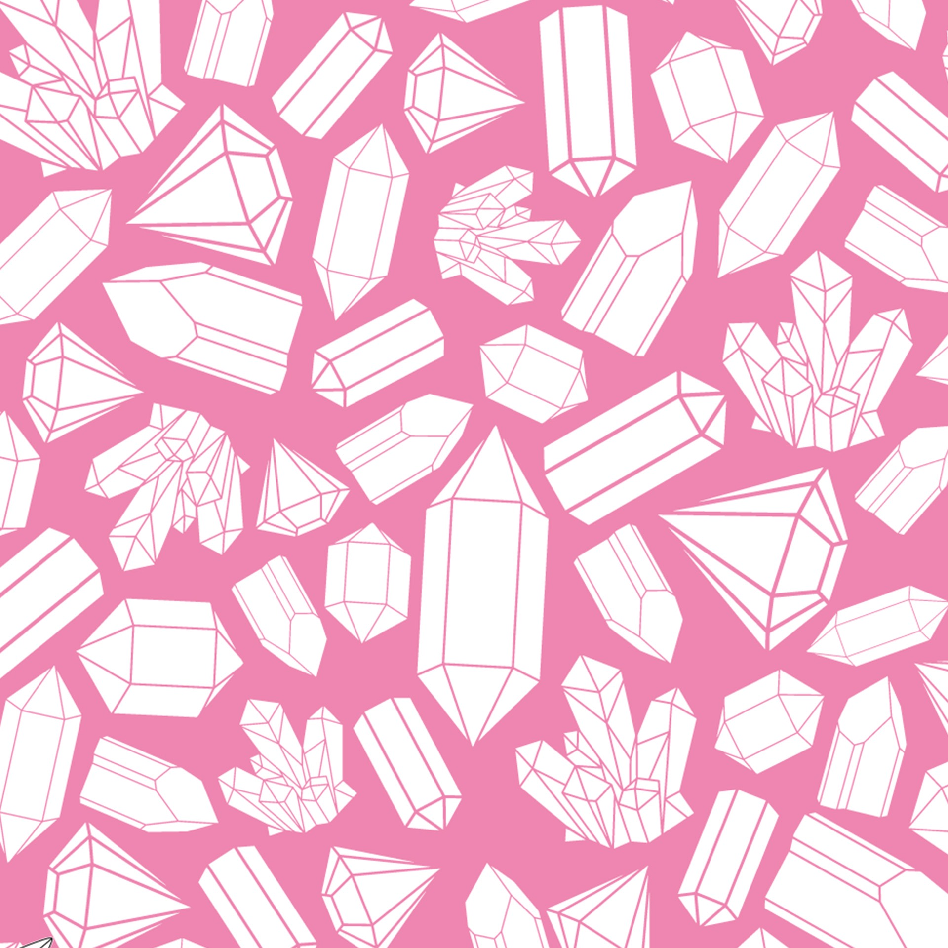 crystal pattern printable origami paper paper kawaii shop