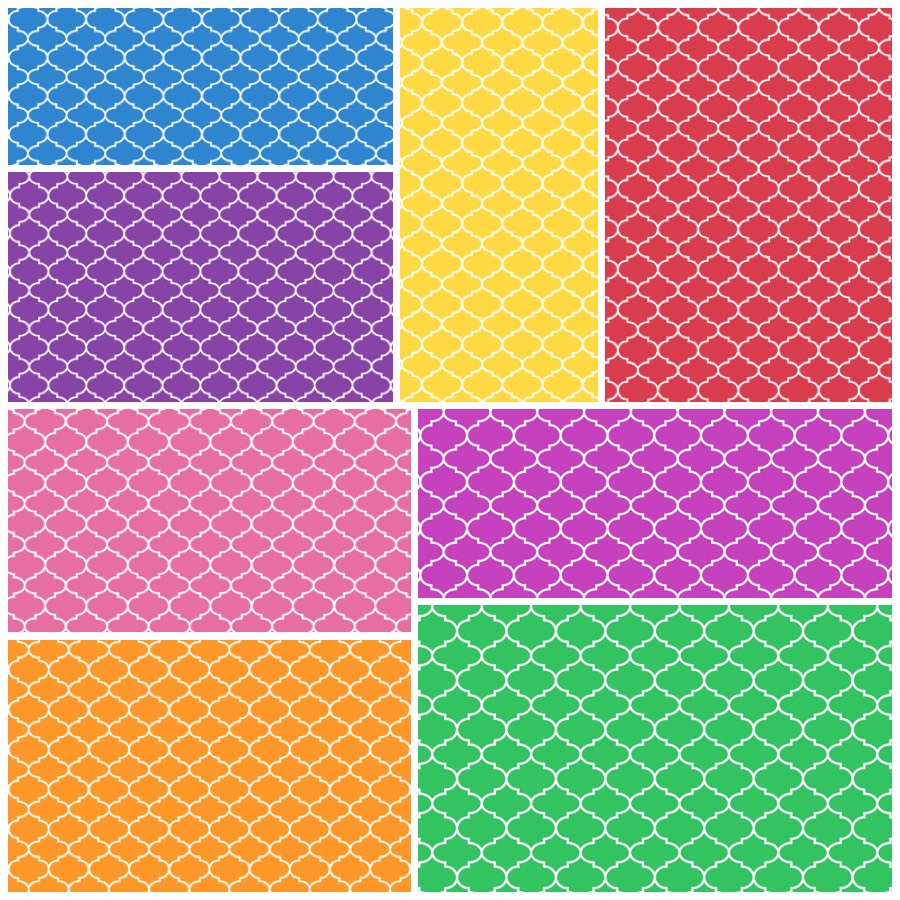 moroccan pattern printable origami paper paper kawaii shop