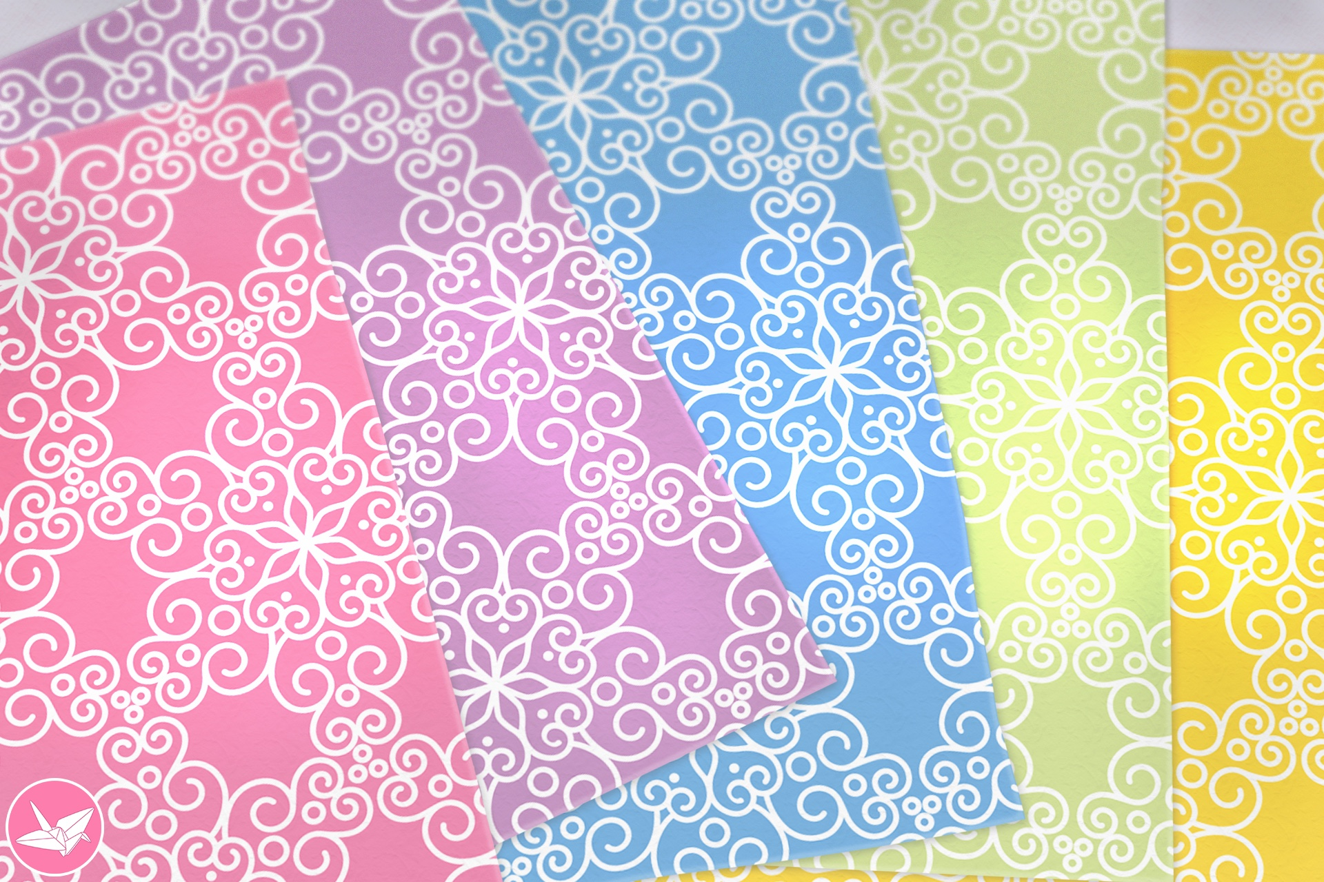 It is a graphic of Adaptable Printable Origami Paper
